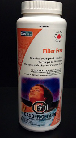Canadian Spa Filter Clean