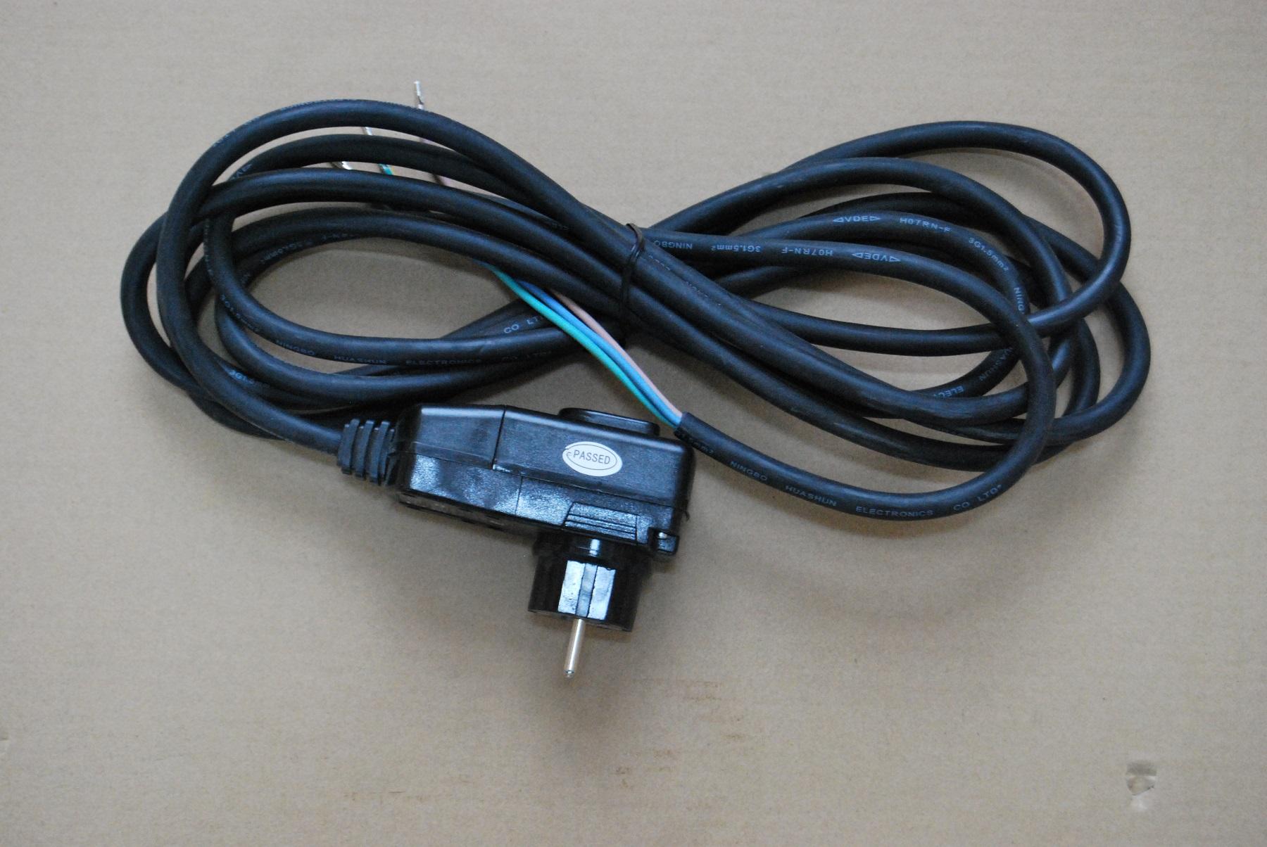 stecker f r plug play spas inkl 1 6 kabel fi schutzschalter canadianspa. Black Bedroom Furniture Sets. Home Design Ideas