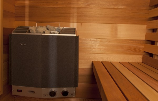 Saunaofen 240V / 4,5 KW
